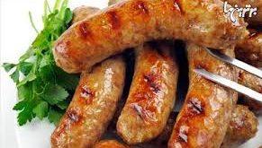 تولید بهترین سوسیس های دراز گوشت قرمز